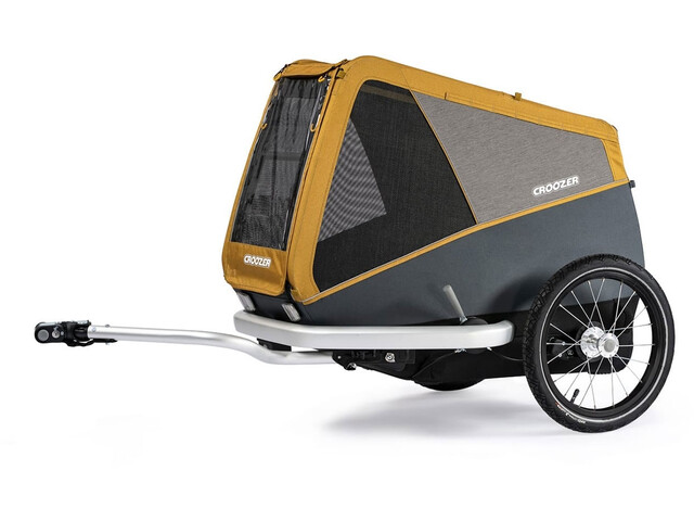 Croozer Dog L Dog Trailer corn yellow